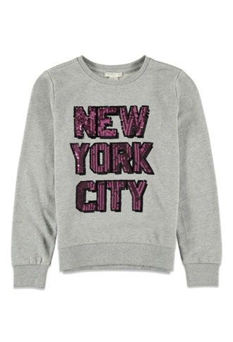 Sudadera New York City Lentejuelas (Niña)