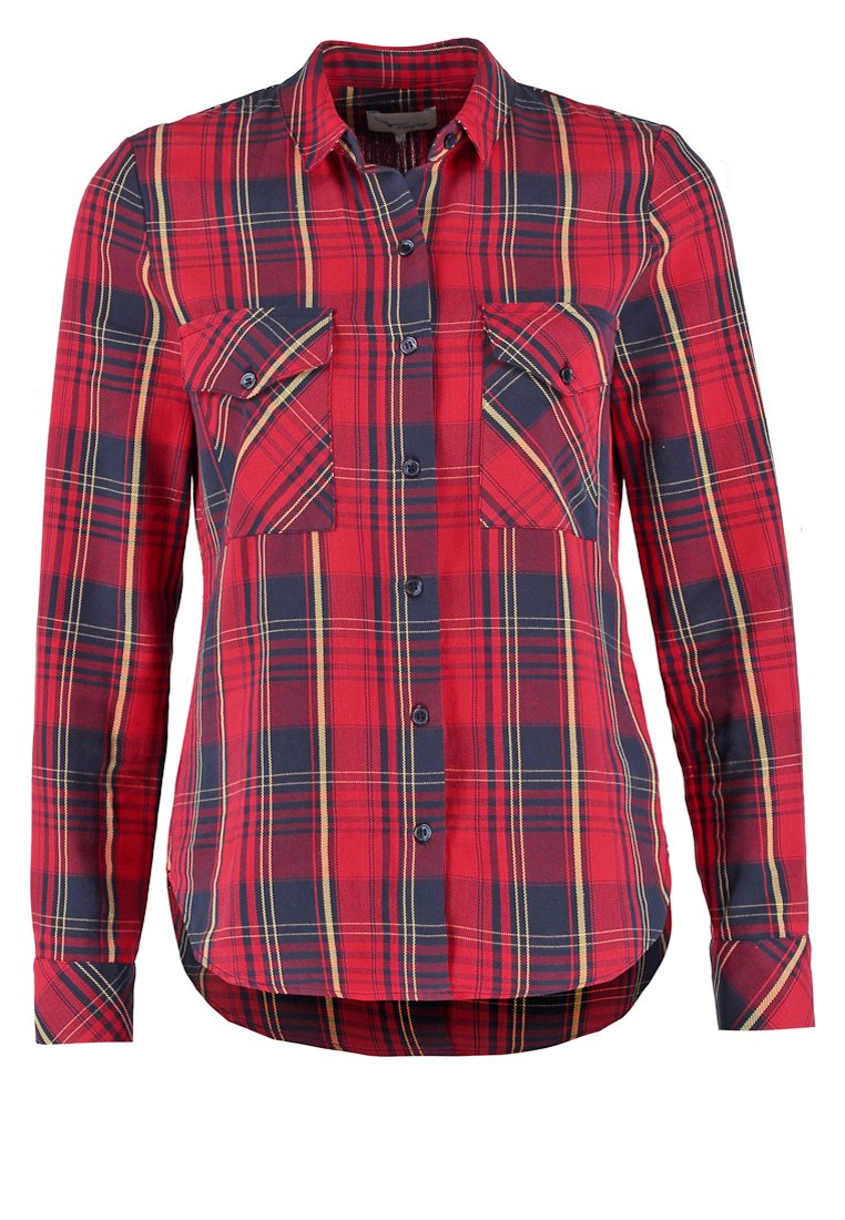 TWINTIP Camisa red/dark blue/yellow