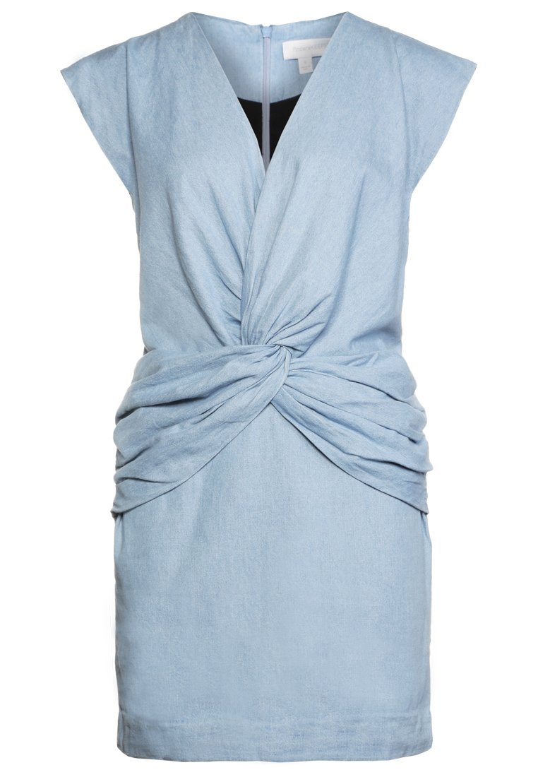 Finders Keepers Vestido vaquero chambray