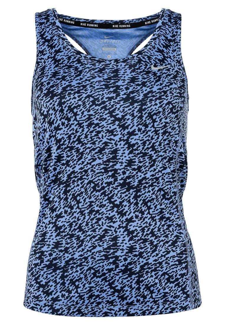 Nike Performance MILER Camiseta de deporte chalk blue/reflective silver