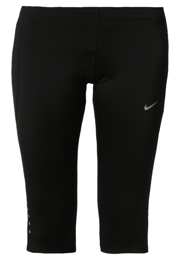Nike Performance TECH CAPRIS Medias black/reflective silver