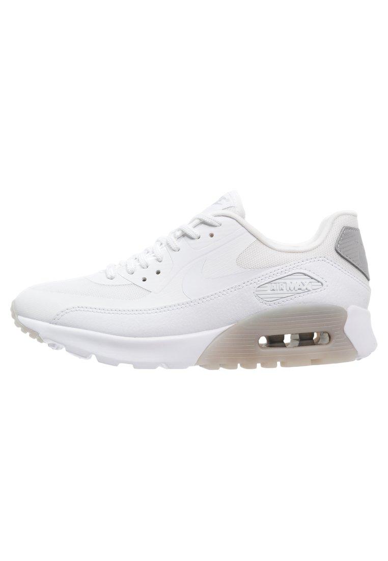 Nike Sportswear AIR MAX 90 ULTRA ESSENTIAL Zapatillas white/wolf grey/metallic silver