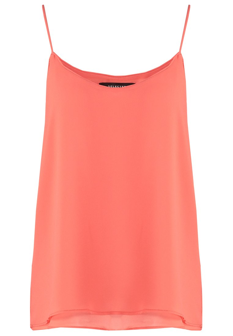 Selected Femme SFSMILE Top emberglow
