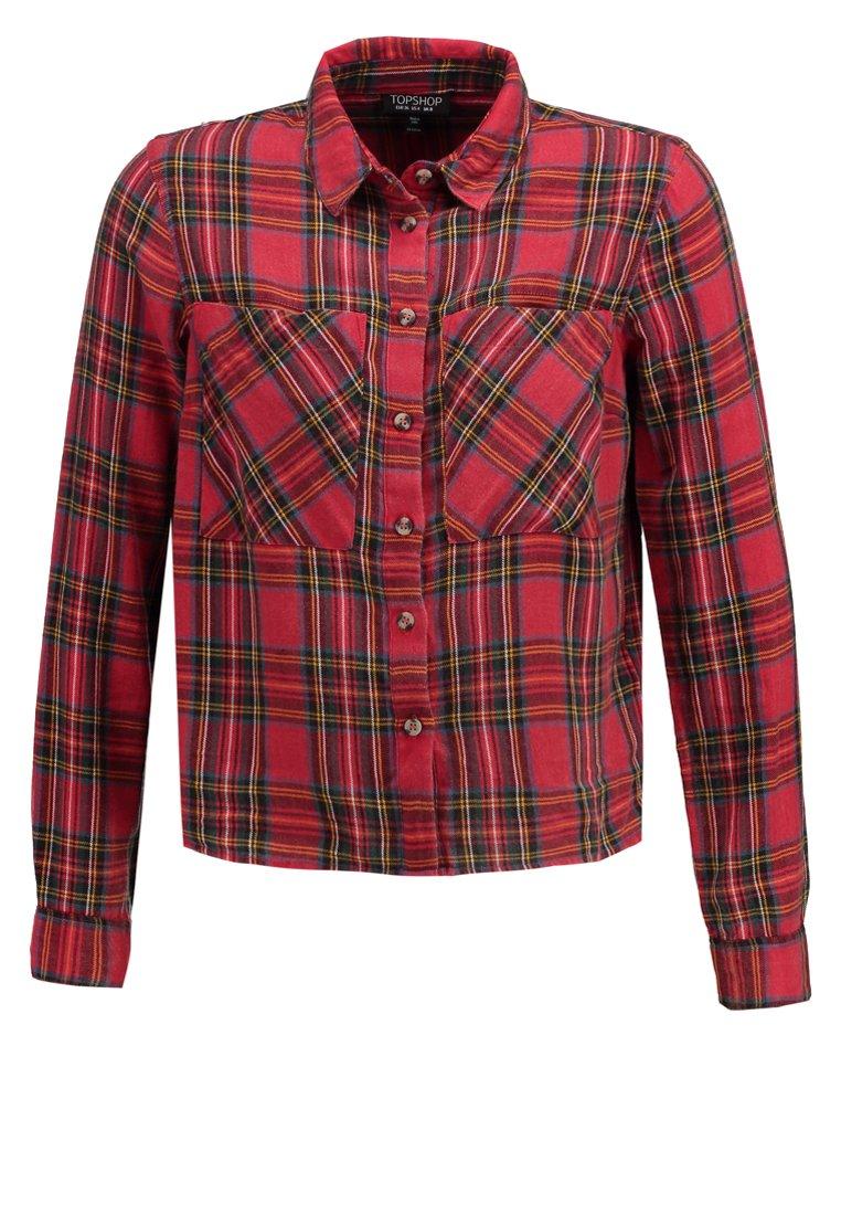 Topshop CHARLOTTE  Camisa red