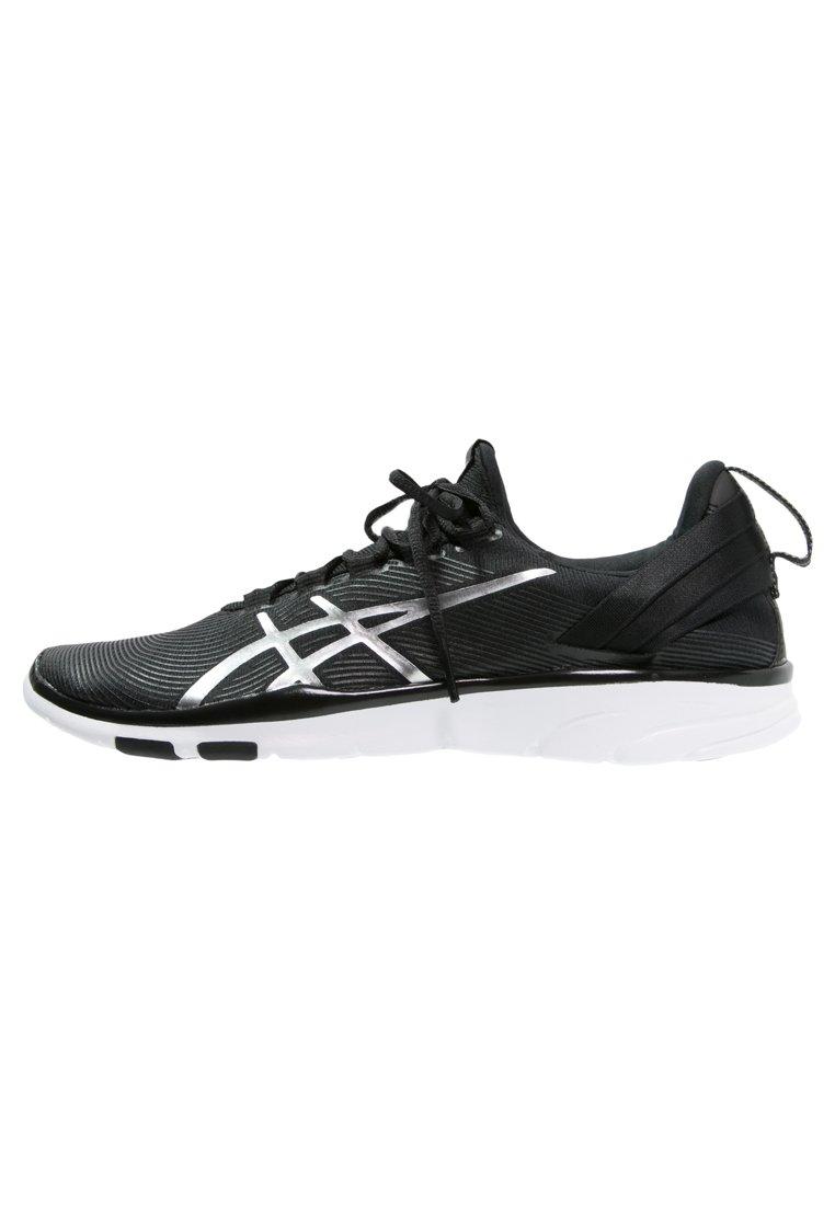 ASICS GELFIT SANA 2 Zapatillas fitness e indoor black/silver/white