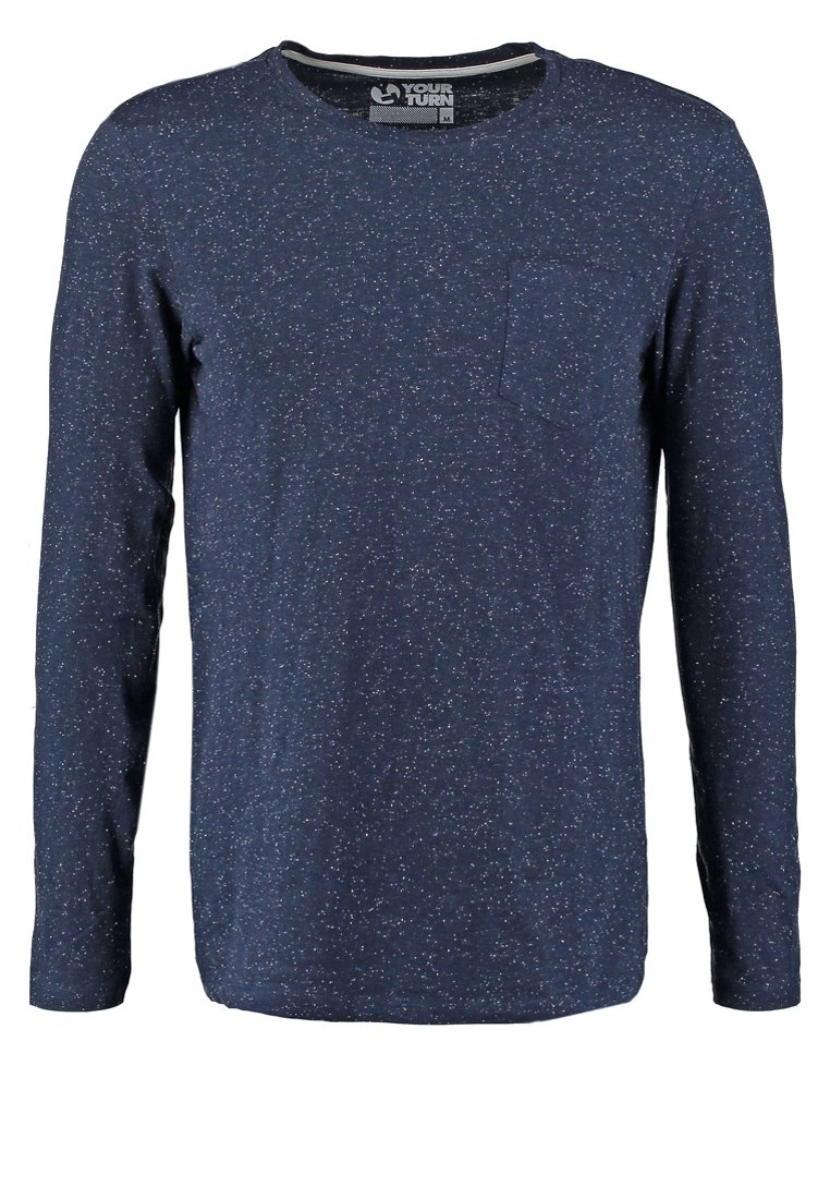 YOUR TURN Camiseta manga larga dark blue