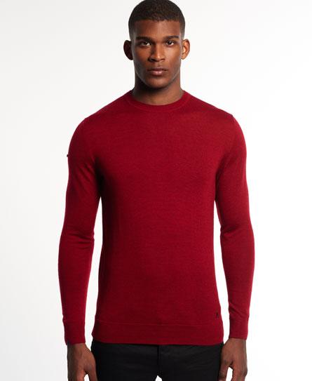 Jersey de cuello redondo Call Sheet Merino