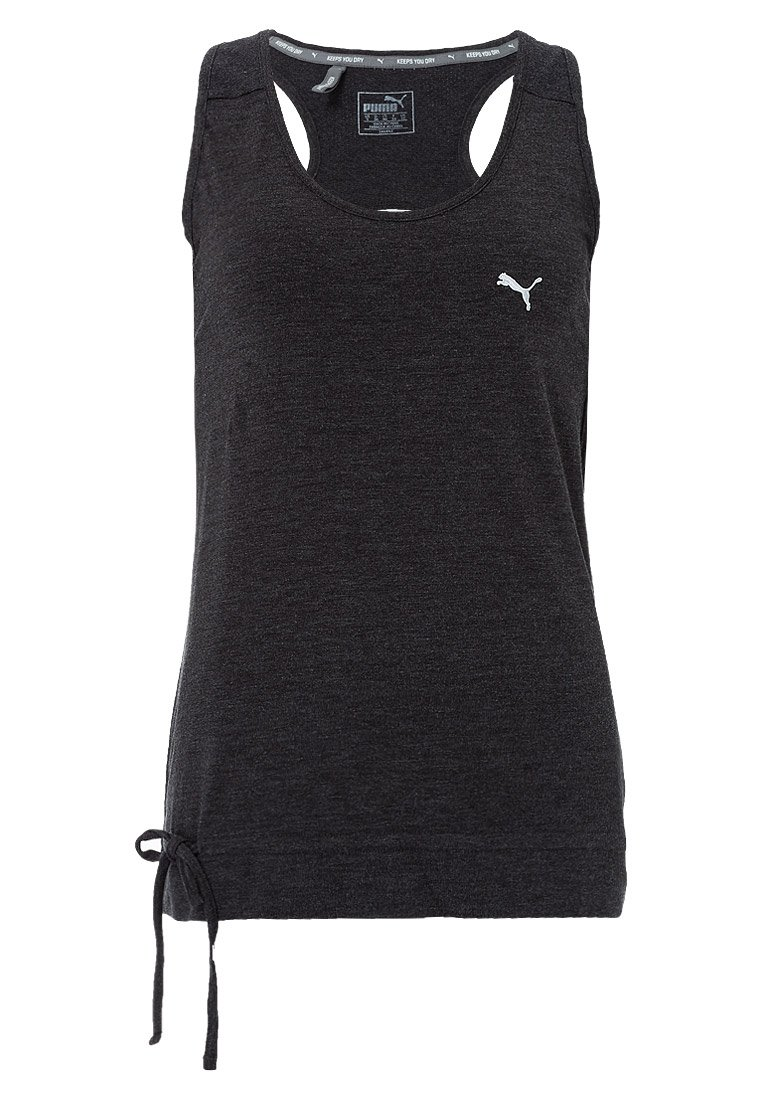 Puma ACTIVE FOREVER Top dark gray heather