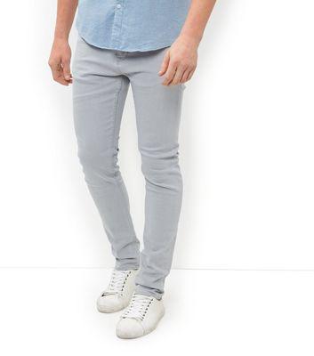 Pale Grey Skinny Jeans