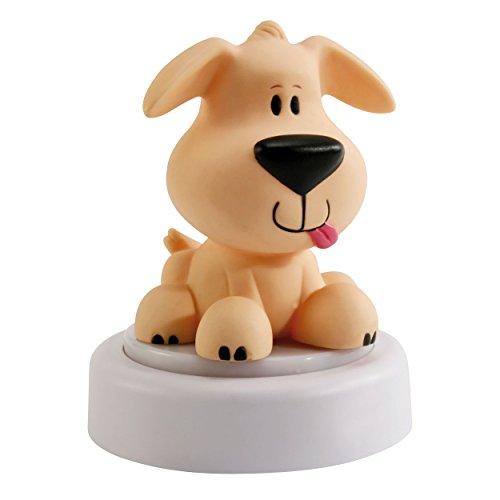 Ansmann NL-H - Lámpara nocturna para niños, diseño perro