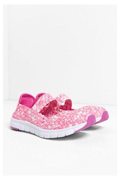 Desigual - Mujer - Sneakers rosas para niña - Camping 2 - Size 29 ETHYLENE VINYL ACETATE CHICLE