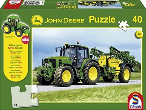Puzzle. John Deere Tractor 663040T.
