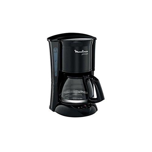Moulinex Principio FG1528 - Cafetera de filtro, 600 W, 6 tazas, función auto apagado, color negro