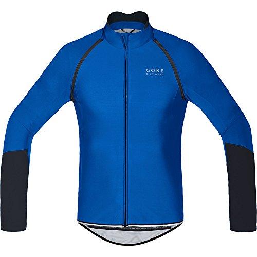 Gore Bike Wear Power Windstopper Soft Shell Zip-Off - Maillot para hombre, multicolor, talla L