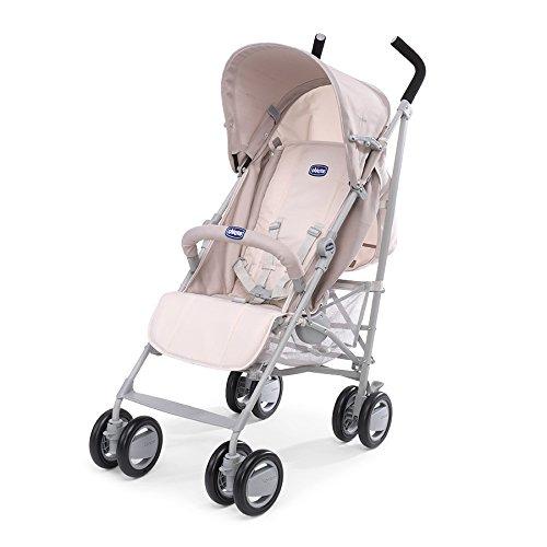 Chicco London - Silla de paseo, compacta y manejable, 7,2 kg, color beige