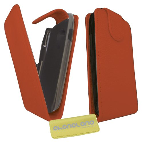 Funda de Piel para Samsung Galaxy Ace 2 (i8160) Color Rojo