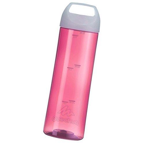 Botella de senderismo colour rosa o azul 0,75 Liter - hidratación depósitos rosa