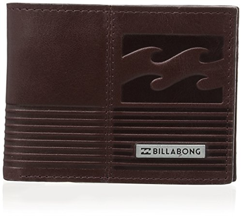 Billabong Invert - Monederos para hombre, color brown (chocolate), talla única