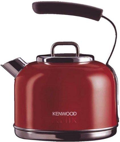 Kenwood SKM031 - Hervidor eléctrico, color rosa, material acero, potencia 2200 W