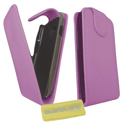 Funda de Piel para Samsung Galaxy S3 (i9300) Color Rosa