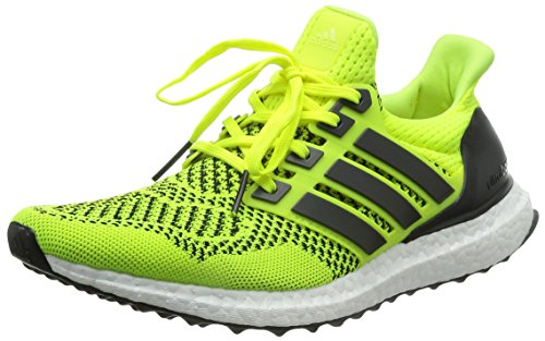 new product 0dd9e bb7f0 adidas Ultra Boost M - Zapatillas de running para hombre, color lima    negro, talla 39 1 3