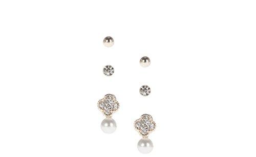 Parfois - Mujer - Set Pendientes Silver Delicates - Plateado -