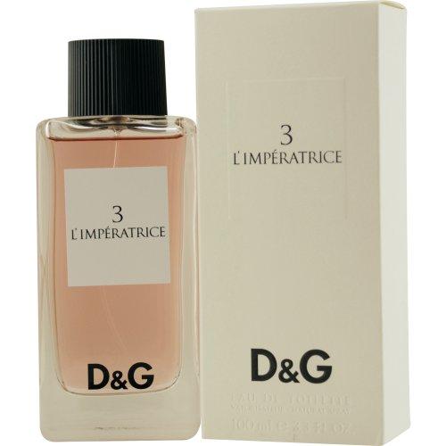 DOLCE & GABBANA 3 - L'IMPÉRATRICE agua de tocador vaporizador 100 ml