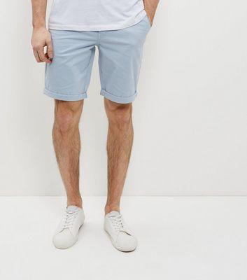 Pale Blue Chino Shorts