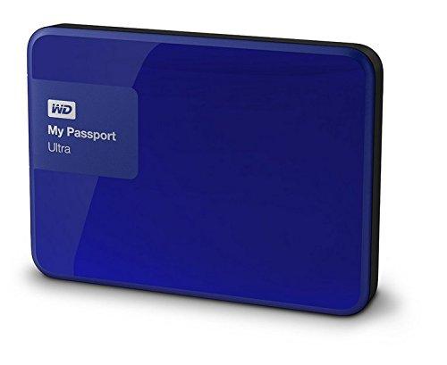 WD My Passport Ultra - Disco duro externo portátil de 1 TB (2.5
