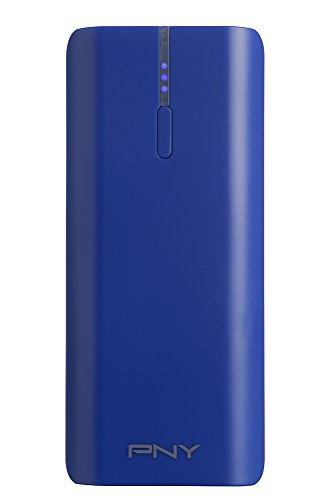 PNY PowerPack T5200 - Batería externa portátil para smartphone, recargable, 5200 mAh, color azul