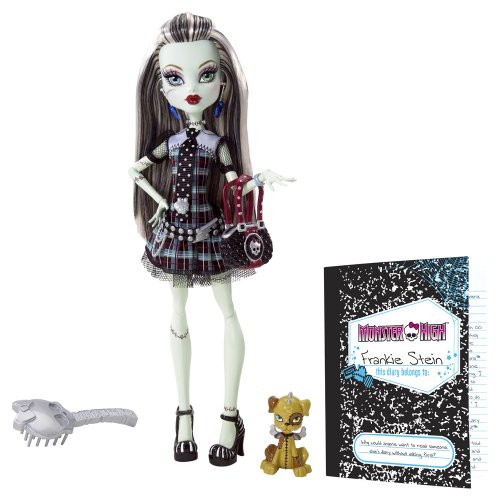 Monster High - Frankie, muñeca diseño original (Mattel BBC67)