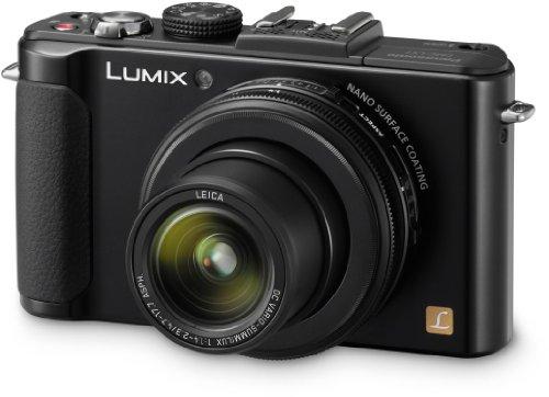 Panasonic Lumix DMC-LX7EG-K - Cámara compacta de 10.1 Mp (pantalla de 3