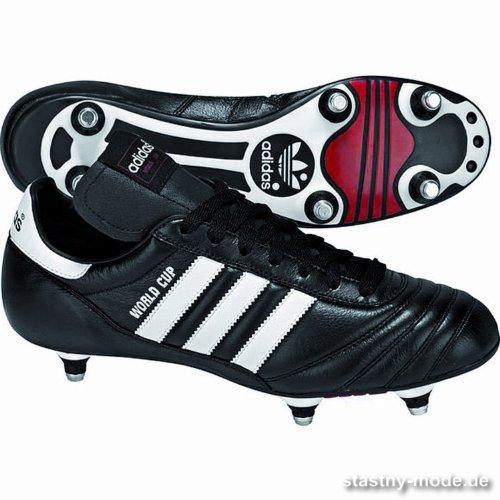 Adidas World Cup - Zapatillas de Fútbol Americano para Hombre, Color Black/FTWR White, Talla 40