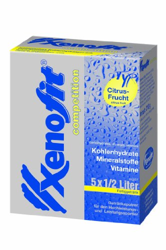 Xenofit 5 x 42g 500ml, - , color (citrus fruit), talla DE: 5 x 42g für je 500ml