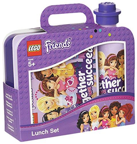 LEGO Friends - Set de almuerzo con botella y fiambrera, color lavanda (Room Copenhagen #40591732)