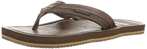 Billabong SEAWAY - Sandalias de goma para hombre, color marrón, talla 46