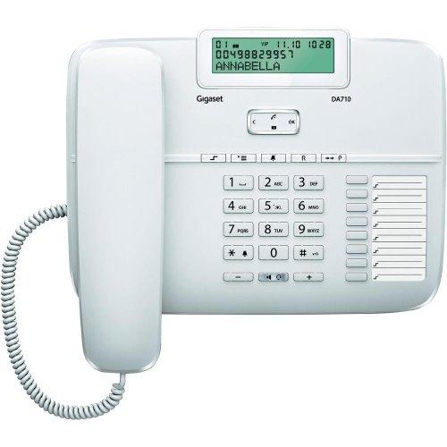 Gigaset SIE30DA710B - Teléfono, color blanco