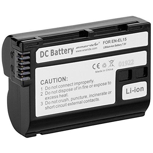 Eneride E8034090 E Nik EN EL 15 1600 mAh de la batería recargable