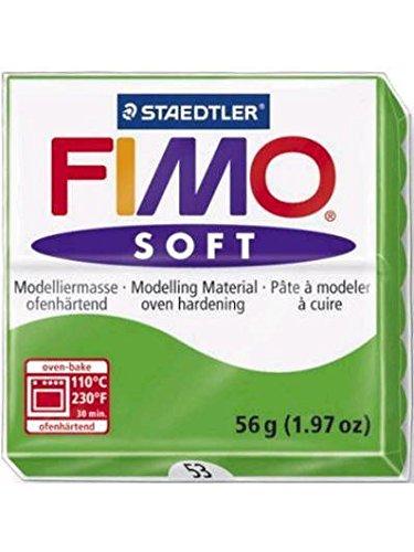 Fimo - Pasta de modelar soft 56gr-53, color verde tropical