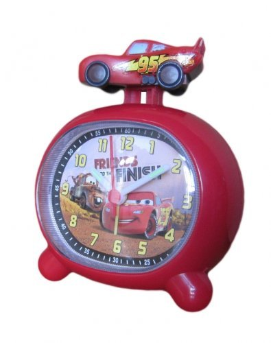 Disney 957182 - Reloj despertador analógico de cuarzo para mujer
