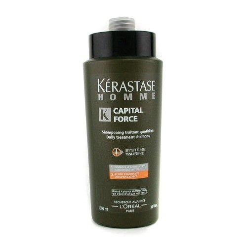 KERASTASE - HOMME CAPITAL FORCE bain densifiant 1000 ml-unisex