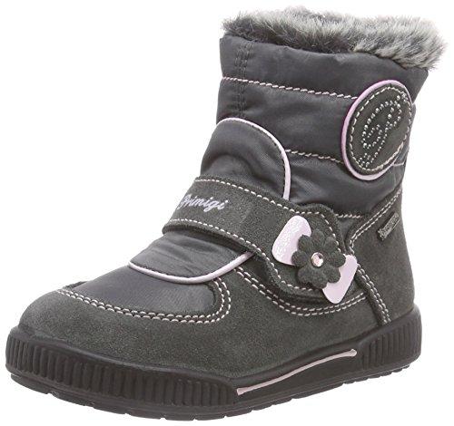 Primigi TIFFANY - Zapatos primeros pasos de cuero para niña, color gris, talla 26