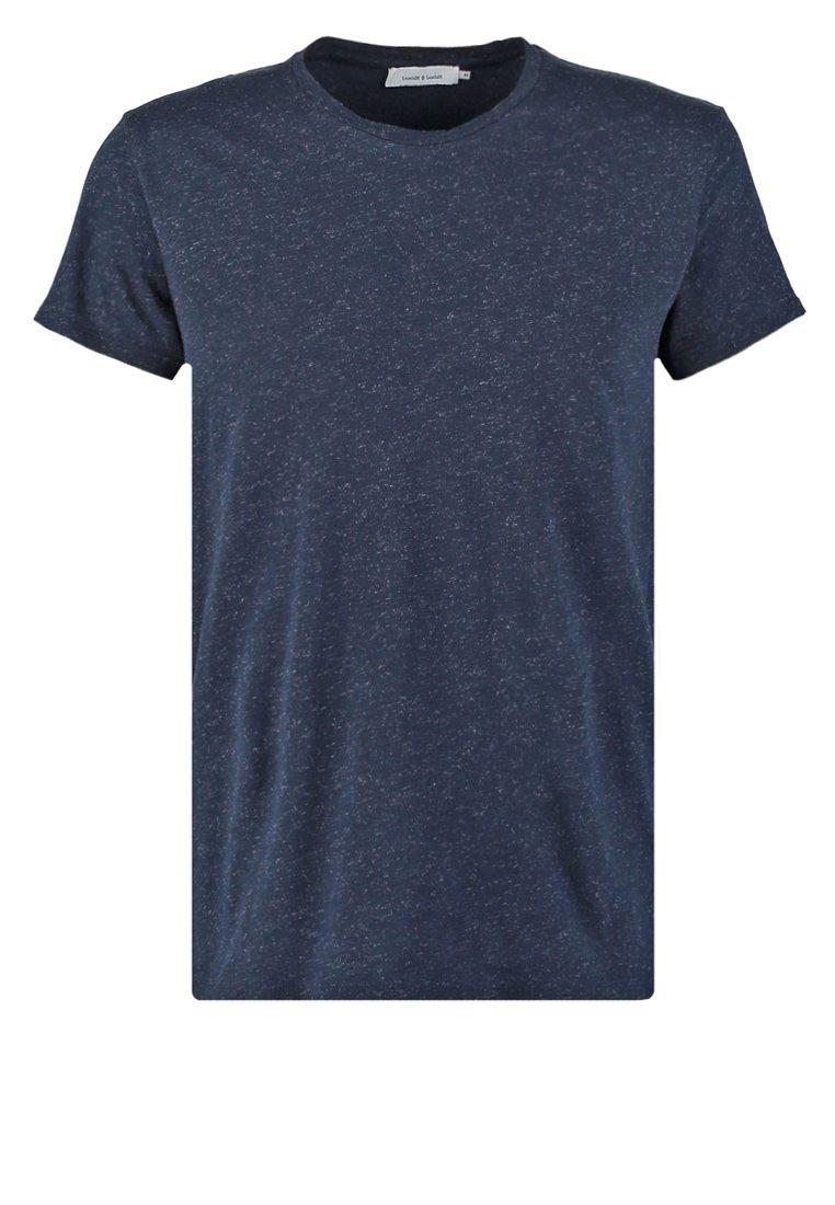 Samsøe & Samsøe Camiseta básica blue melange