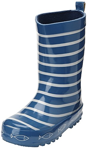 Be only Timouss - Botas de agua infantil, color bleu electrique, talla 20