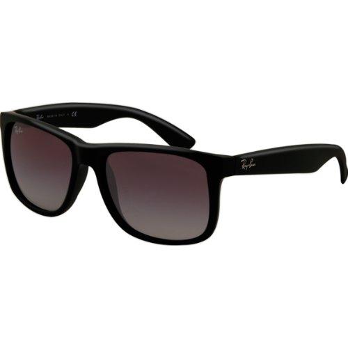 Ray-Ban rb4165_601/8G_55 - Gafas de sol para hombre, color negro, talla 55
