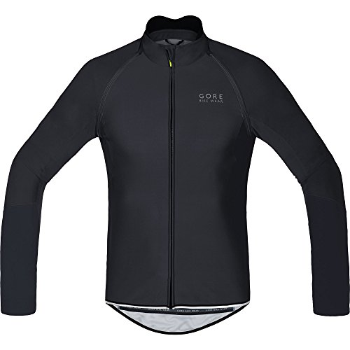 Gore Bike Wear Power Windstopper Soft Shell Zip-Off - Maillot para hombre, color negro, talla XL