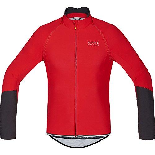 Gore Bike Wear Power Windstopper Soft Shell Zip-Off - Maillot para hombre, multicolor, talla M