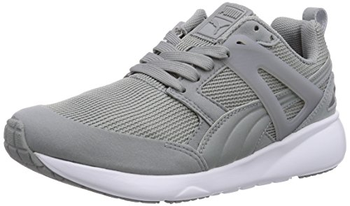 Puma Arial - zapatilla deportiva de material sintético unisex, color gris, talla 42