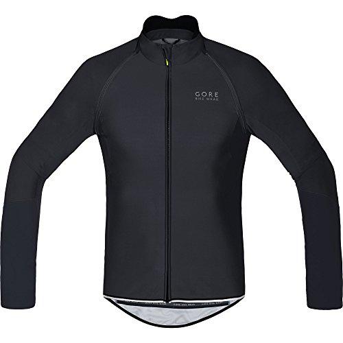 Gore Bike Wear Power Windstopper Soft Shell Zip-Off - Maillot para hombre, color negro, talla L
