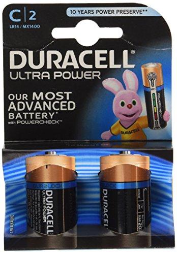 Duracell Ultra Power - Pilas C (alkaline, 1.5 V)